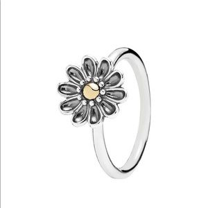 Authentic 'Oopsie Daisy' Pandora Ring